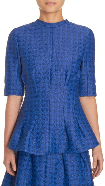 Marni Fitted Brocade Top - Lyst