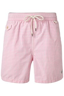 Polo Ralph Lauren Gingham Swim Short - Lyst