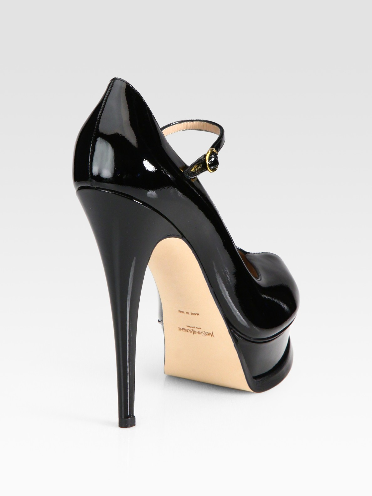 price of christian louboutin shoes - christian louboutin leather and patent leather mary jane platform ...