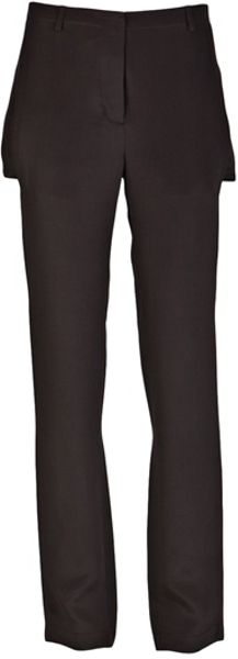3.1 Phillip Lim Slim Leg Trouser in Black (asphalt) - Lyst