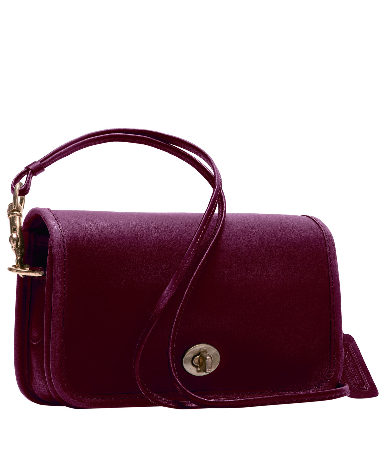 Berry Classic Leather Shoulder Bag Coach 115