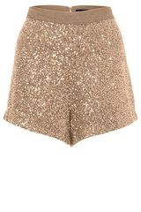 French Connection Fast Mini Sequins Shorts
