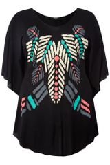 Koko Tribal Print Top