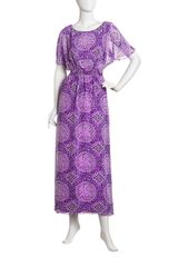 Laundry By Shelli Segal Mosaicprint Maxi Dress - Lyst