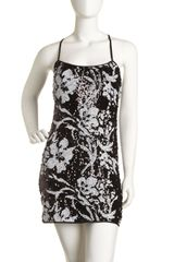 Laundry By Shelli Segal Floral Sequin Shift Dress - Lyst