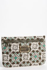 Marc By Marc Jacobs Pretty Nylon Batik Cosmetics Pouch - Lyst