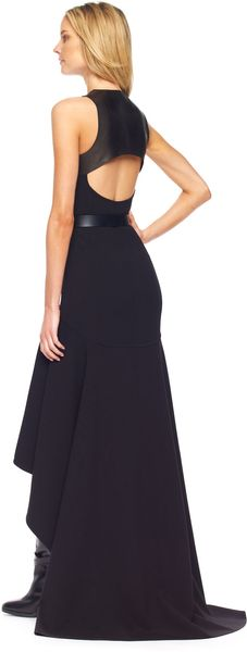 Michael Kors Highlow Hemline Gown - Lyst
