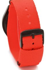 Nixon The Quad Watch in Orange - Lyst