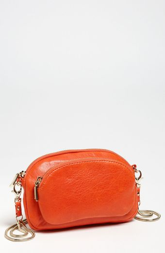 Rebecca Minkoff Jelly Bean Leather Crossbody Clutch - Lyst