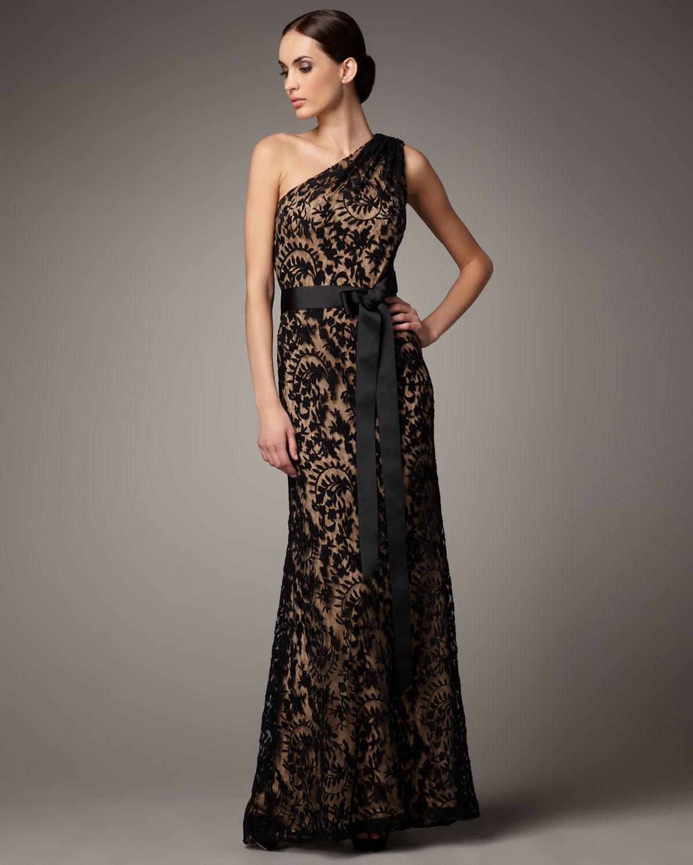Lace One Shoulder Dresses