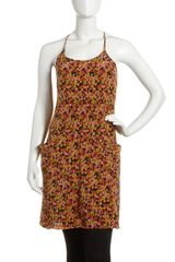 Theory Ales Floral print Dress - Lyst