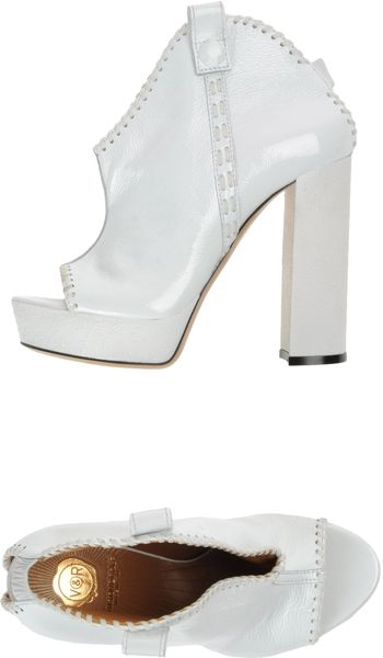 Viktor & Rolf Platform Sandals in White - Lyst