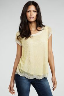 Dallin Chase Viniscus Seedbead Top - Lyst
