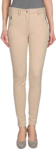 Jo No Fui Casual Trouser in Beige - Lyst