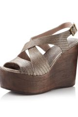Joie Windy Wedge Bone - Lyst