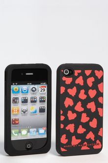 Marc By Marc Jacobs Wild Hearts Iphone 4 4s Cover - Lyst