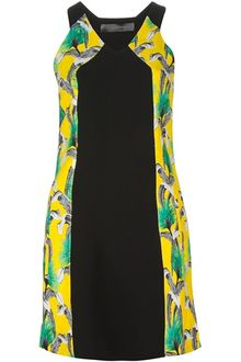 Proenza Schouler Flower Printed Dress - Lyst