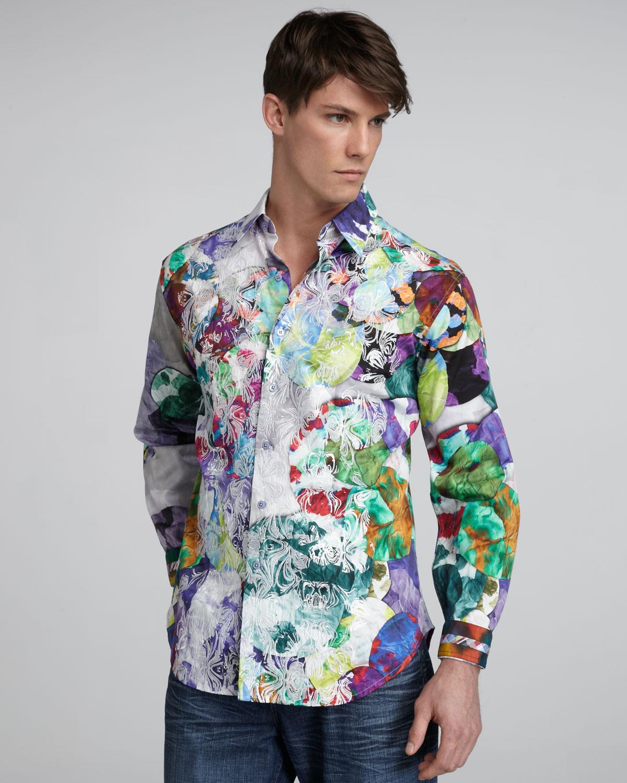 Mens Shirts Like Robert Graham Joe Maloy