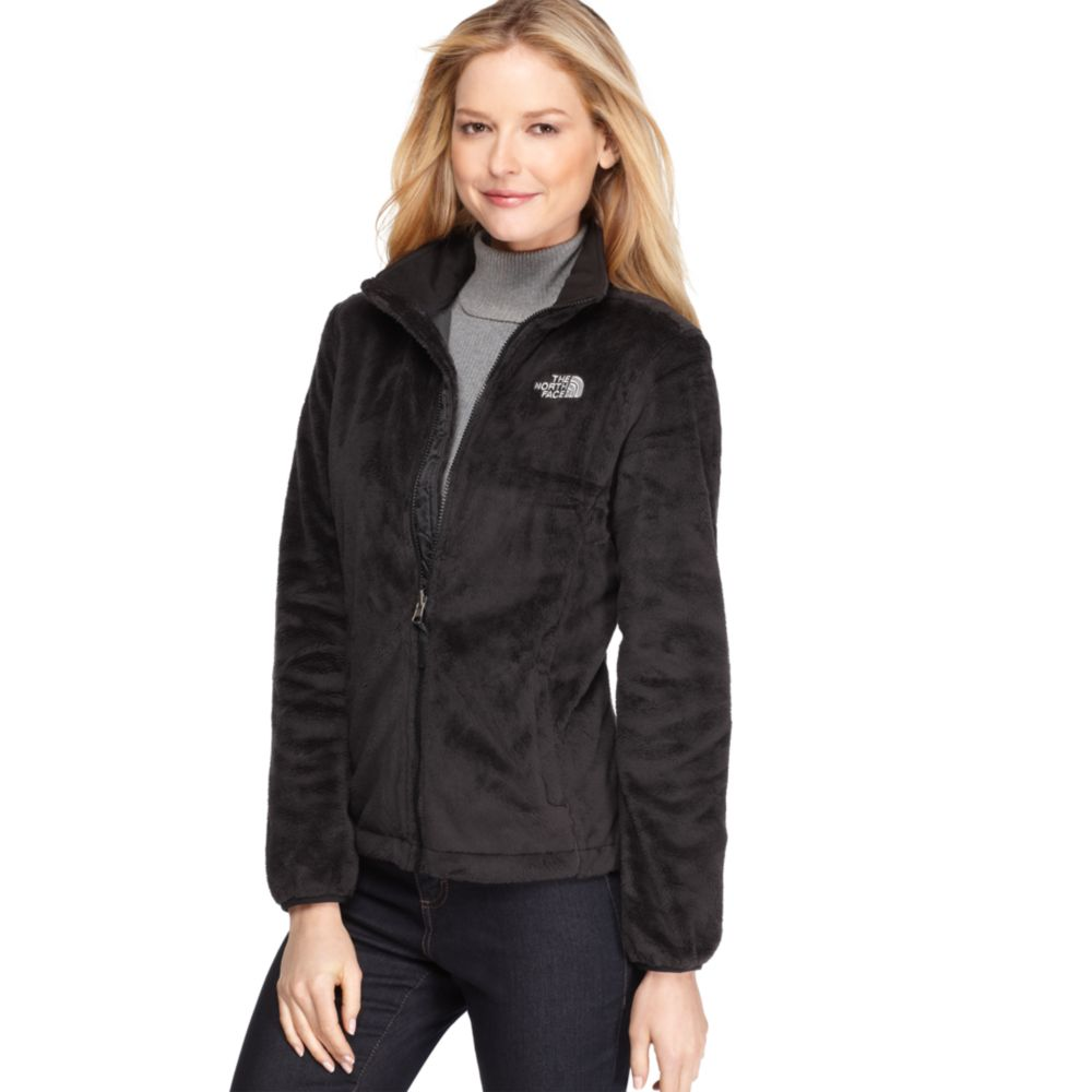 Lyst - The North Face Osito Zip Front Fleece in Black 5f609aa107