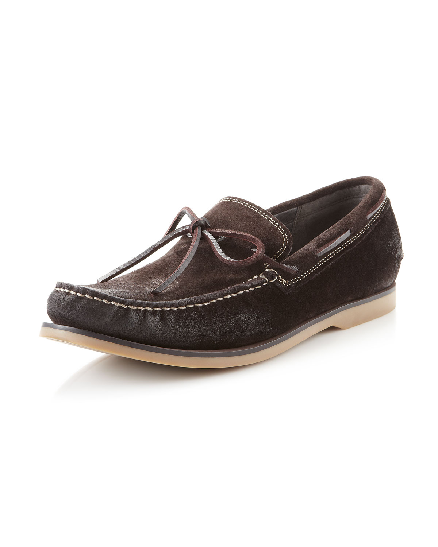 John Varvatos Mens Boat Shoes