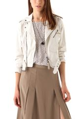 Club Monaco Christy Motorcycle Jacket - Lyst