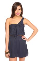 Nasty Gal Sailor Knot Dress - Lyst