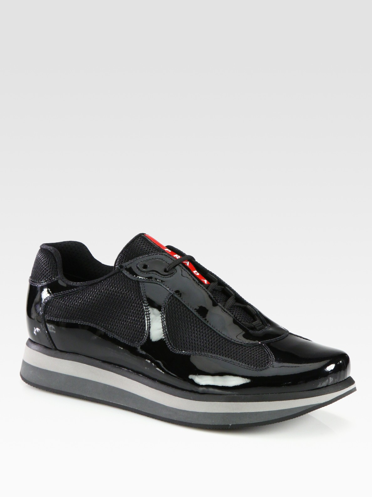 Patent Leather Basketball Shoes