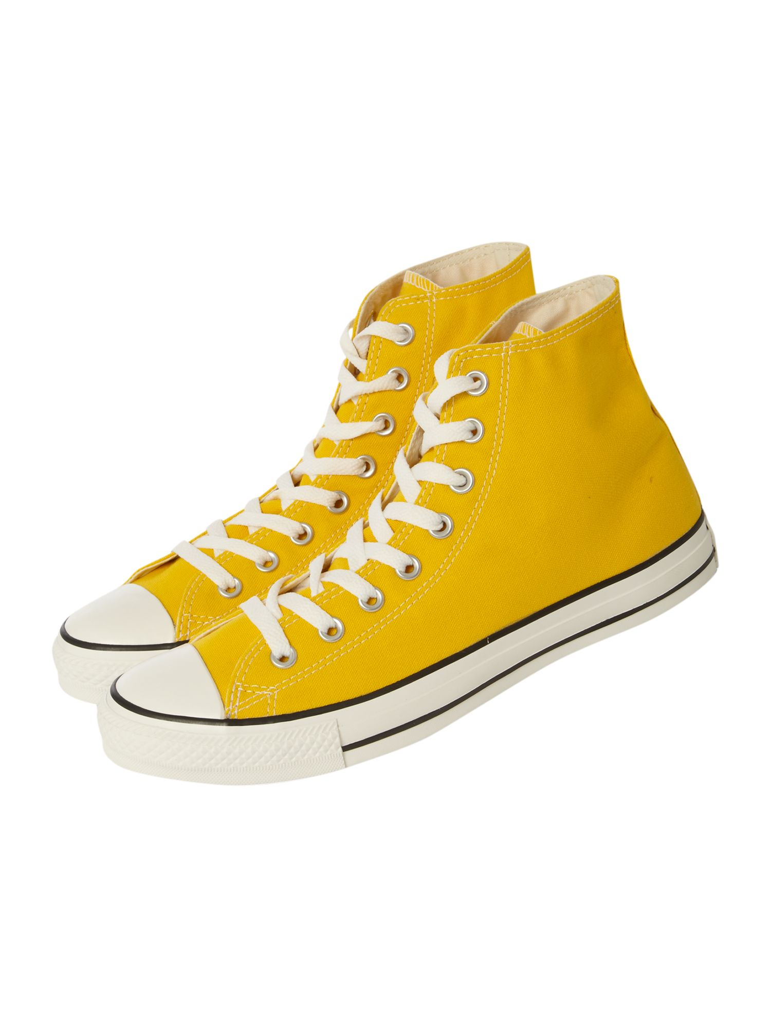Converse Chuck Taylor All Star High Top In Yellow For Men