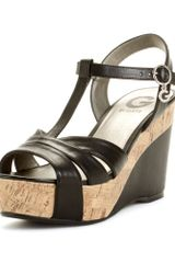 G By Guess Gale Wedge Sandals - Lyst