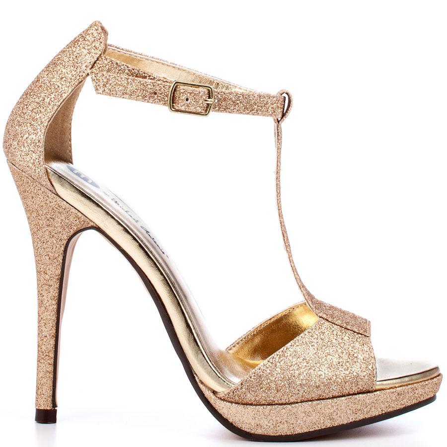 2 Inch Gold Heels - Is Heel