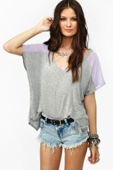Nasty Gal Sweet Side Tee - Lyst