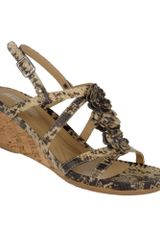 Naturalizer Sudi Wedge Sandals - Lyst