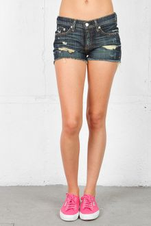 Rag & Bone Rag Bonejean Cut Off Short - Lyst