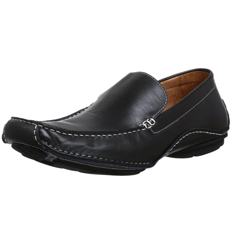steve madden steve madden mens novo driving shoe in black
