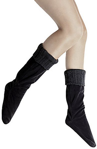 Steve Madden Swarm Socks in Black - Lyst