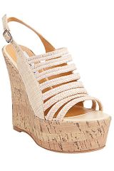 Steve Madden Geteven Wedge Sandals - Lyst