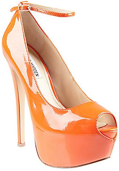 Steve Madden Brakup in Orange (orange patent)