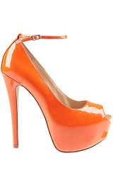 Steve Madden Brakup in Orange (orange patent) - Lyst