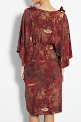 Vivienne Westwood Anglomania Printed Cavalry Dress in Red - Lyst