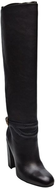 Yves Saint Laurent Chyc Knee Boots - Lyst