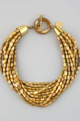 Ashley Pittman Mani Multistrand Necklace - Lyst