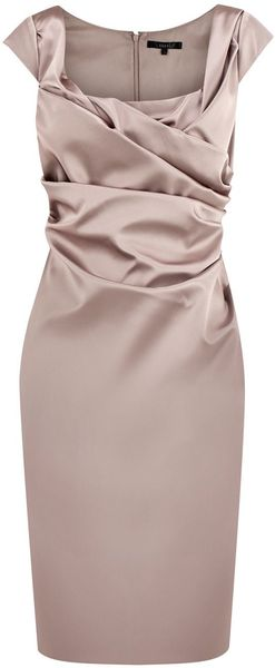 Coast Alva Dress in Pink (mocha) - Lyst