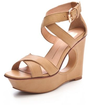 Dolce Vita Orla Cutout Wedge Sandals - Lyst