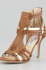 Jimmy Choo Margy Suede Sandal - Lyst