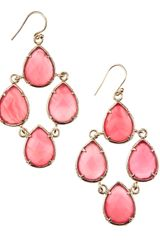 Kendra Scott Carlone Chandelier Earrings - Lyst