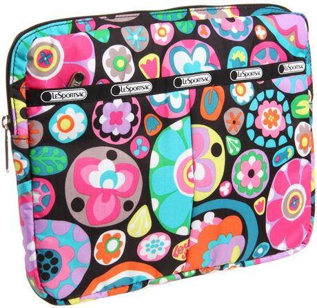 Lesportsac Lesportsac Laptop Sleeve in Multicolor (flower drops) - Lyst
