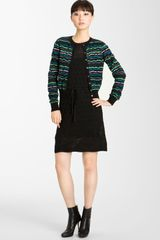 Missoni Ribbon Stitch Cardigan - Lyst