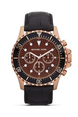 Michael Kors Oversized Rose Gold Everest Watch  - Lyst