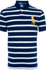 Polo Ralph Lauren Striped Polo Shirt - Lyst