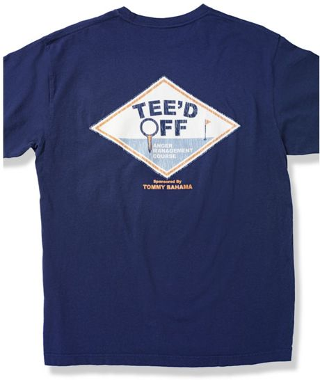 Tommy Bahama Teed Off Graphic T Shirt In Blue For Men Lyst